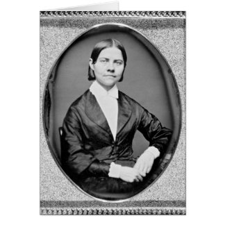 Lucy Stone American Abolitionist and Suffragist Card
