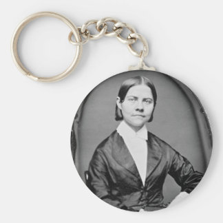 Lucy Stone American Abolitionist and Suffragist Keychain