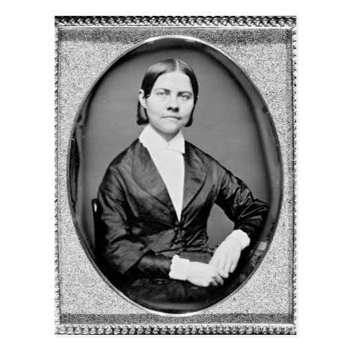 Lucy Stone American Abolitionist and Suffragist Post Card