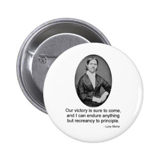 Lucy Stone Pinback Buttons