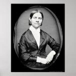 Lucy Stone Daguerreotype 1844 Posters
