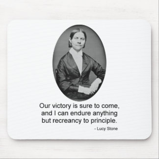 Lucy Stone Mouse Pad