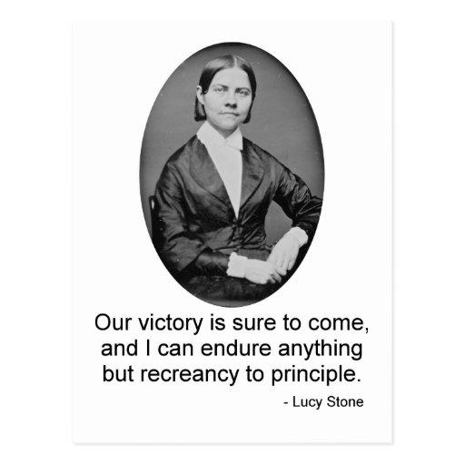Lucy Stone Postcard