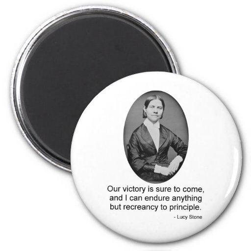 Lucy Stone Refrigerator Magnets