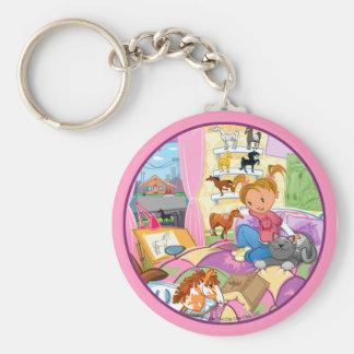 Lucy's keychain