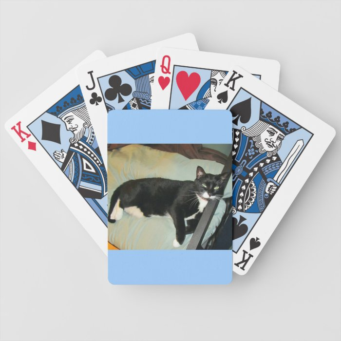 Lucy's Pillow Bicycle Playing Cards