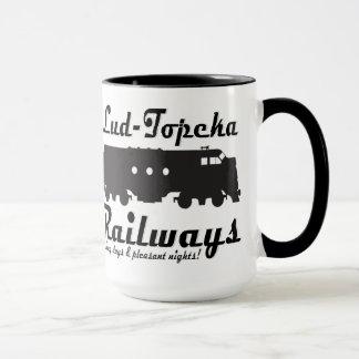 Lud-Topeka Railways - Long days & pleasant nights! Mug