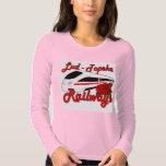 Lud-Topeka Railways & Rose T Shirt