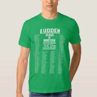 Ludden Class of Nineteen 86 - Men's Throwback Tee! Shirt