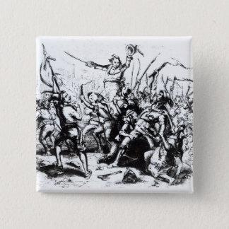 Luddite Rioters, 1811-12 Button