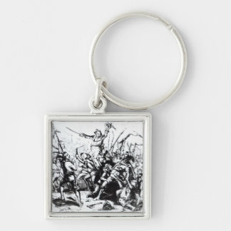 Luddite Rioters, 1811-12 Keychain
