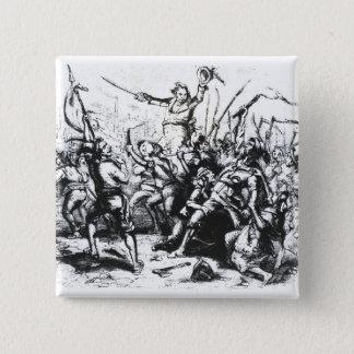 Luddite Rioters Button