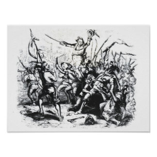 Luddite Rioters Poster