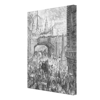 Ludgate Hill Canvas Print