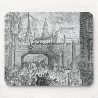 Ludgate Hill Mouse Pad