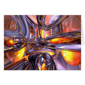 ludicrous Voyage Abstract Card