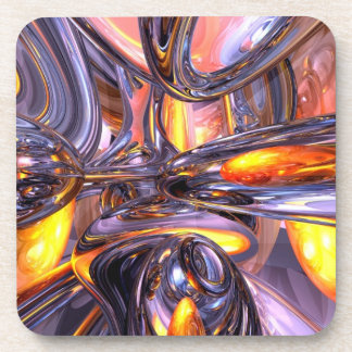 ludicrous Voyage Abstract Drink Coasters