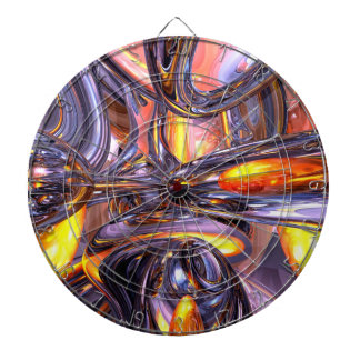 ludicrous Voyage Abstract Dart Board
