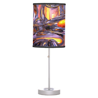 ludicrous Voyage Abstract Desk Lamp