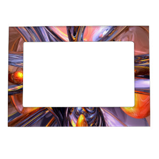 ludicrous Voyage Abstract Picture Frame Magnets