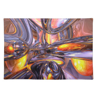 ludicrous Voyage Abstract Placemats
