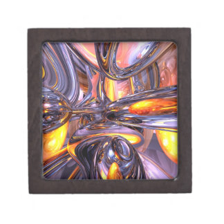 ludicrous Voyage Abstract Premium Jewelry Boxes
