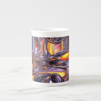 ludicrous Voyage Abstract Tea Cup