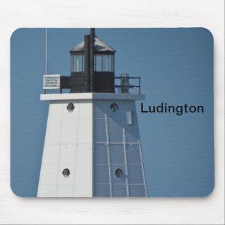 Ludington Breakwater Light Mouse Pad