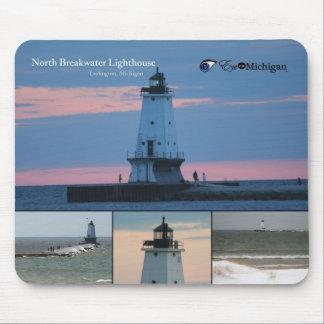 Ludington Lighthouse Mouse Pad