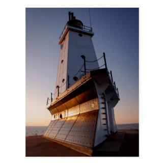 Ludington Lighthouse Postcard