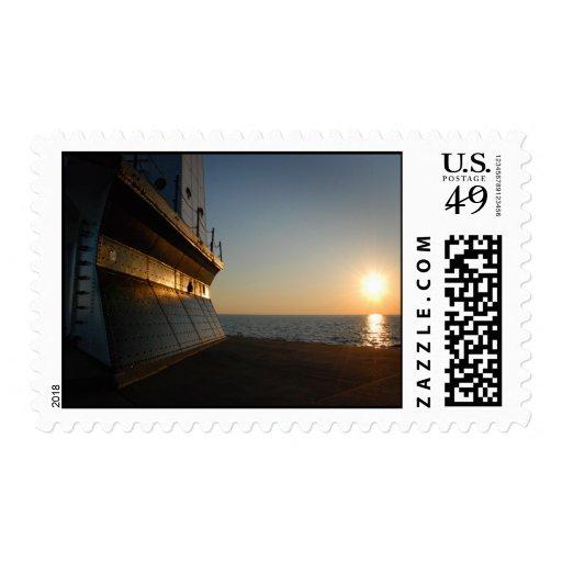 Ludington Lighthouse Stamp