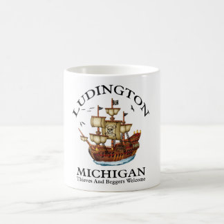 Ludington Michigan 2 Coffee Mug