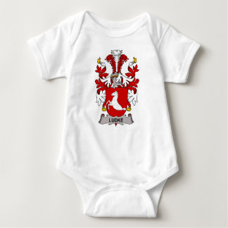 Ludke Family Crest T Shirts