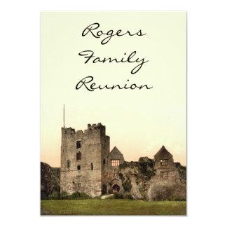 Ludlow Castle II, Shropshire, England Card