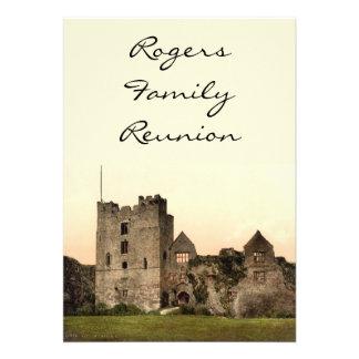 Ludlow Castle II Shropshire England Personalized Invites
