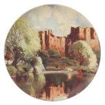 Ludlow Castle III, Shropshire, England Dinner Plates