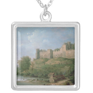 Ludlow Castle Silver Plated Necklace