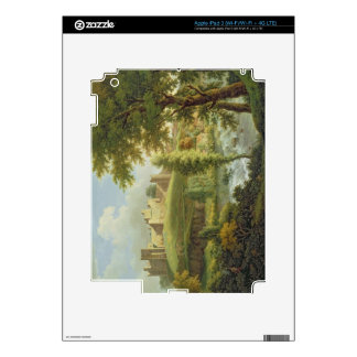 Ludlow Castle with Dinham Weir, from the South-Wes Decal For iPad 3