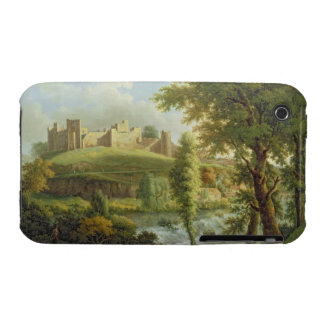 Ludlow Castle with Dinham Weir, from the South-Wes iPhone 3 Case
