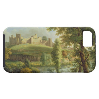 Ludlow Castle with Dinham Weir, from the South-Wes iPhone SE/5/5s Case
