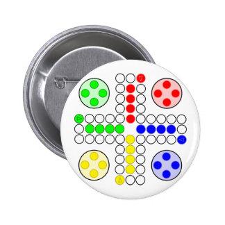 Ludo Classic Board Game Pinback Button