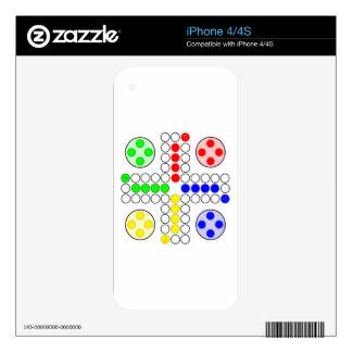 Ludo Classic Board Game iPhone 4S Decals
