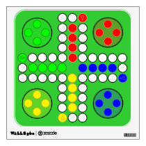 Ludo Classic Game Board Wall Sticker