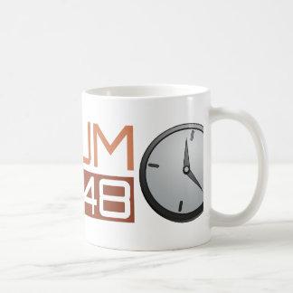 Ludum Dare Shiny Clock Coffee Mug