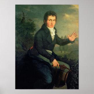 Ludvig van Beethoven, 1804 Poster