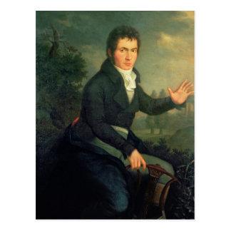 Ludvig van Beethoven, 1804 Tarjeta Postal