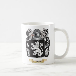 Ludwig Coat of Arms (Family Crest) Classic White Coffee Mug