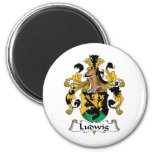 Ludwig Family Crest Fridge Magnets