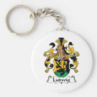 Ludwig Family Crest Keychains