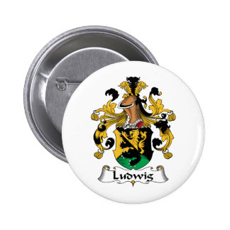 Ludwig Family Crest Pin